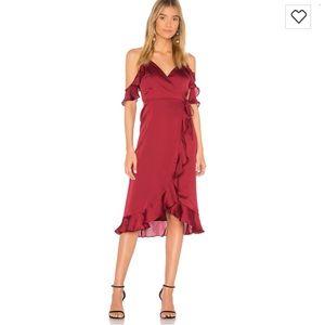 Lovers and Friends Gigi wrap dress
